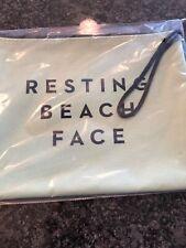 Large Travel Make-Up Bag Plus Sun Block For Face