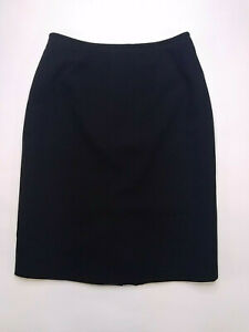 LeSuit Womens Skirt Black Pencil Lined Classic Wardrobe Staple Carreer Size 6P