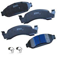 Disc Brake Pad Set-Stop Semi-Metallic Brake Pad Front fits 87-93 Ford Bronco