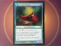 Foil Scorned Villager - Dark Ascension - Magic the Gathering MtG Tracked