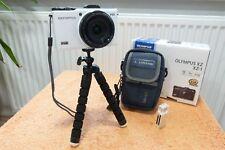 Olympus Stylus XZ 1 l F NEU mit EXTRAS I  28x112mm l 3Zoll Starkes OLED l FullHD