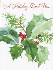 American Greetings Christmas Thank You Note Card: May Your New Year Be Happy