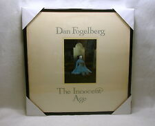 "DAN FOGELBERG Framed Album Cover / Jacket ""The Innocent Age"" 12x12 Wall Decor"