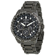 Citizen Promaster Navihawk GPS Chronograph Perpetual Mens Watch CC9025-85E