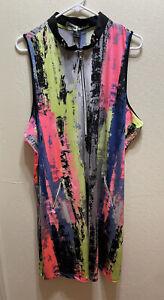 NWT JAMIE SADOCK DRESS WITH MATCHING SHORTS SIZE 2XL XXL GOLF TENNIS Set $120