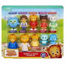 Daniel Tiger's Neighborhood Friends and Family Figure Set - 10 Pack [Toys] NEW
