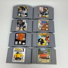 Lot 8 N64 Games Nintendo 64 Kobe Bryant NBA Courtside Cruisin USA NFL NHL MLB