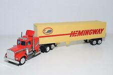 HONG KONG SHINSEI? KENWORTH TRUCK WITH TRAILER HEMINGWAY EXCELLENT CONDITION