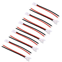 4 Paar 2Pin 2.0 Stecker Buchse Molex Male Female 15cm Kabel Walkera Lipo Akku RC