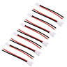 5 Paar 2Pin 2.0 Stecker Buchse Molex Male Female 20cm Kabel Walkera Lipo Akku RC