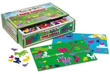 FUZZY FELT FARM ANIMALS Deluxe SET - over 350 pieces - John Adams