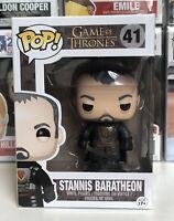 ⭐️Game of Thrones- Stannis Baratheon #41 Funko Pop Vinyl + Pop Protector⭐️