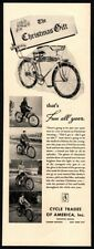 1938 CYCLE TRADES - Bicycle - Christmas Presents - Gifts - Retro VINTAGE AD