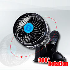 Zento Deals 12V Speed Car Fan - Superior Quality Auto Powerful Rotatable Fan