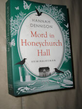 Hannah Dennison: Mord in Honeychurch Hall