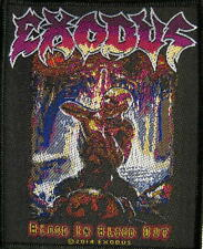 "EXODUS PATCH / AUFNÄHER # 3 ""BLOOD IN BLOOD OUT"""