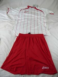 "MENS ASICS FITNESS SHIRT AND SHORTS - ""SET OFFSIDE"" - SIZE XL - RRP £34.99 - NEW"