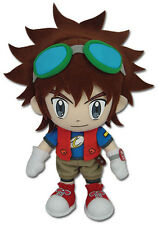 "1x NEW Digimon Digital Monsters 9"" Mikey Kudo Great Eastern GE-52765 Plush Doll"