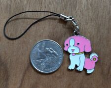 New Dog Cell Phone Charm Strap