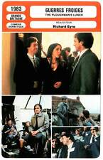 FICHE CINEMA : GUERRES FROIDES - Pryce,Curry,Eyre 1983 The Ploughman's Lunch