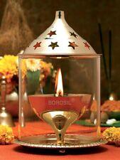 Borosil Akhand Diya - Brass(Small)  - Elegant and great choice for Gifting.....!