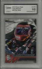 2013 PRESS PASS HOT SEAT TONY STEWART CARD GMA GRADED 10