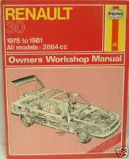 NEW HAYNES MANUAL RENAULT 30  0682