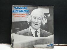 MAURICE CHEVALIER 68 ans d amour / Notre Paris AZ SG 134