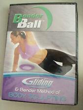 Gliding & Bender Method Of Body Sculpting New Dvd Bender Ball