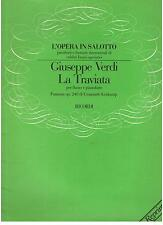 Verdi: La Traviata, Fantasia Per Flauto e Pianoforte (Krakamp) - Ricordi