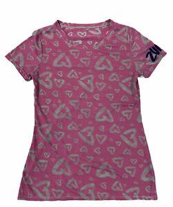 I love Zumba Dance Fitness T-shirt Mirage (dusky pink) Medium Woman's