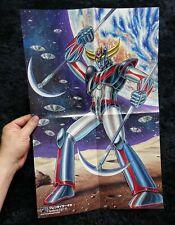 Japanese Anime Go Nagai Grendizer Mazinger Z Great Mazinger Poster