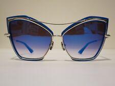 0428e8a6694 DITA CREATURE 22035C Cat Eye Blue Silver Optique Glasses Eyewear Sunglass  Shade