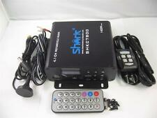 1400watt 4.1ch motorcycle amplifier w/ 2 remotes, FM, SD, USB , Bluetooth black