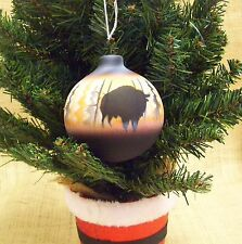 Cedar Mesa Native American Hand Made Pottery Down Home Christmas Ornament