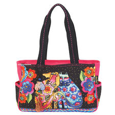 Laurel Burch Cat Dog Kindred Friends Medium-Large Tote Bag New