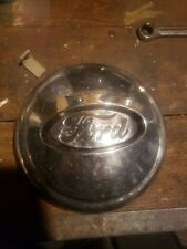 Original 1935? 1936? Ford locking hubcap spare tire wheel cover
