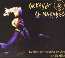 ORQUESTA EL MACABEO 2 CD SET DECIMO ANIVERSARIO EN VIVO EN EL NIDO NEW & SEALED