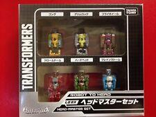 Transformers Titans Return Takara LGEX Headmaster Set of 6 NEW