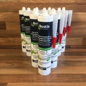 12 Bostik Coving & Ceiling Rose Adhesive White Joint Filler 310ml 15 Meter Bead