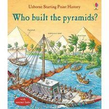Who Built The Pyramids? Le Hardback