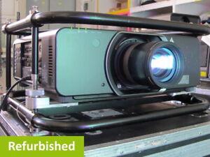 Panasonic PT-DZ13K Projector, 12000 ANSI, 1.920x1.200 WUXGA, 10000:1, 3-Chip-DLP