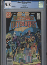 BATMAN AND THE OUTSIDERS #8 MT 9.8 CGC HIGHEST 1 OF 1 CANADIAN PRICE VARIANT