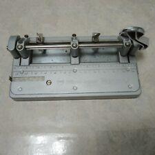 Vintage Wilson Jones Hummer 3 Hole Punch Heavy Duty Model 314 Made In Usa