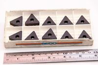 NEW SECO CARBOLOY CPMT 060208-F1 GRADE CP50 CARBIDE INDEXABLE INSERT 10 Pieces