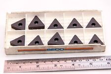 10 NEW SURPLUS CARBOLOY SECO TNMA 270 616/TP100 CARBIDE INSERTS