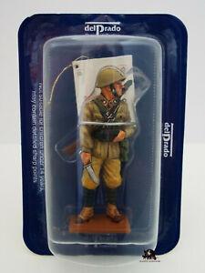 Figurine Collection Del Prado Sapeur Italien Tobrouk 1942 Libye Figurina