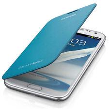 Samsung Rabattable Housse Etui Premium pour Samsung Galaxy Note 2 N7100 - Bleu