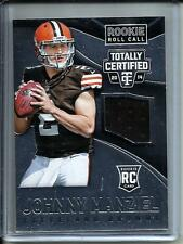 Johnny Manziel 2014 Panini Totally Certified Game Used Jersey