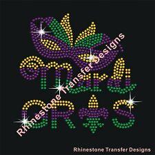 Iron On Rhinestone Transfer Applique Silver Sequin Warriors Mascot Patch Design